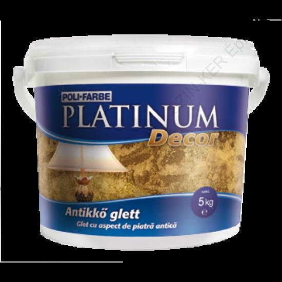 Platinum Decor antikkő glett