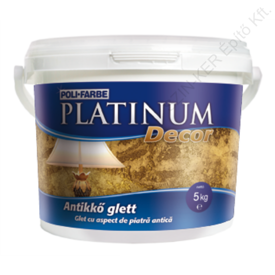 Platinum Decor antikkő glett