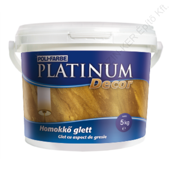 Platinum Decor homokkő glett