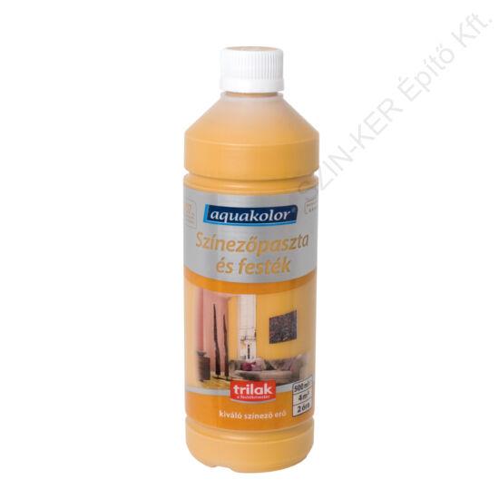 Aquakolor Színezőpaszta 400 Sárga 0,5 L