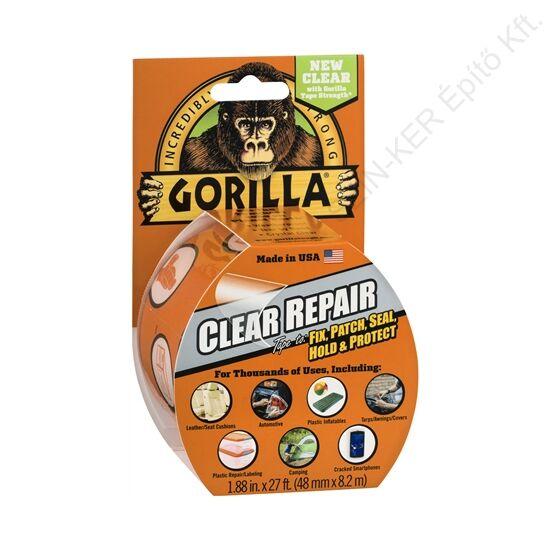 Gorilla Clear Repair Vízálló, Színtelen javítószalag (8,2m x 48mm)