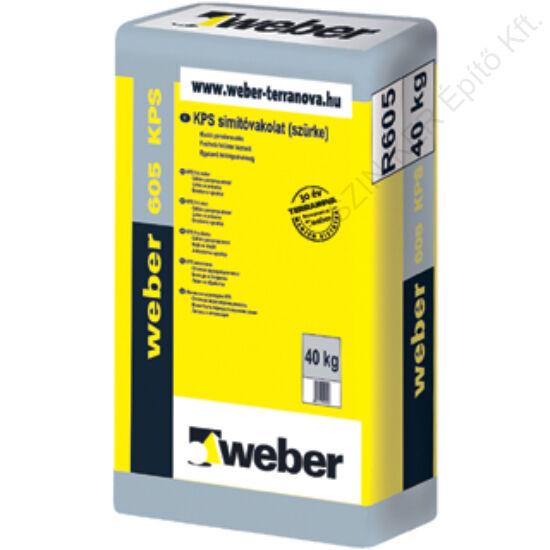 WEBER 605 KPS Simítóvakolat