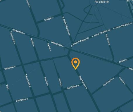 Festék Aréna térkép