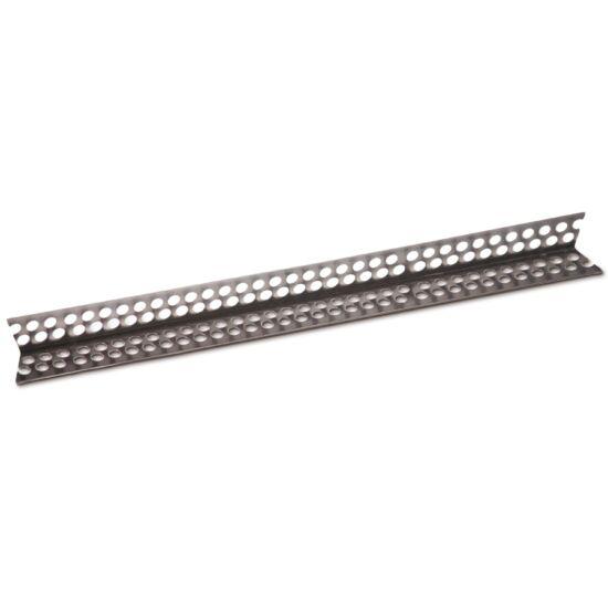 Aluminium élvédő 2,5 m, 23 x 23 mm, erősített