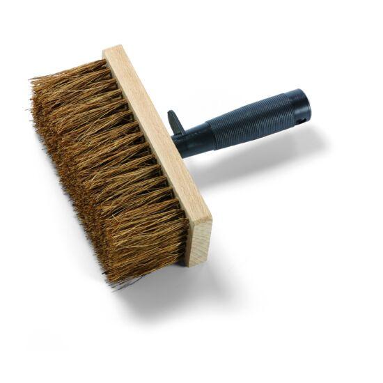 Bitumenkenő kefe 17x7 cm, fíber, fa fej, műa.nyél