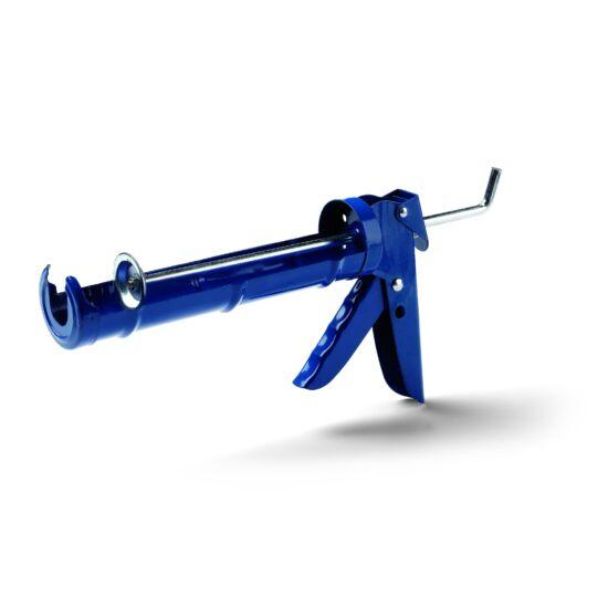 Kinyomópisztoly, 310 ml-es tubushoz, fogasléces kék