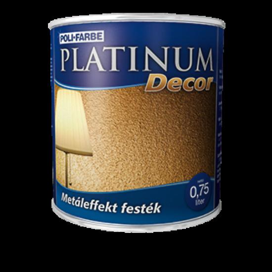 Platinum Decor metal hatású festék