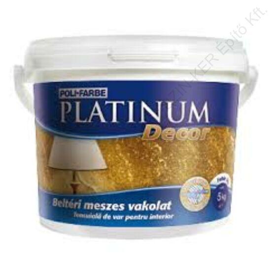 Platinum Decor kül- beltéri meszes vakolat