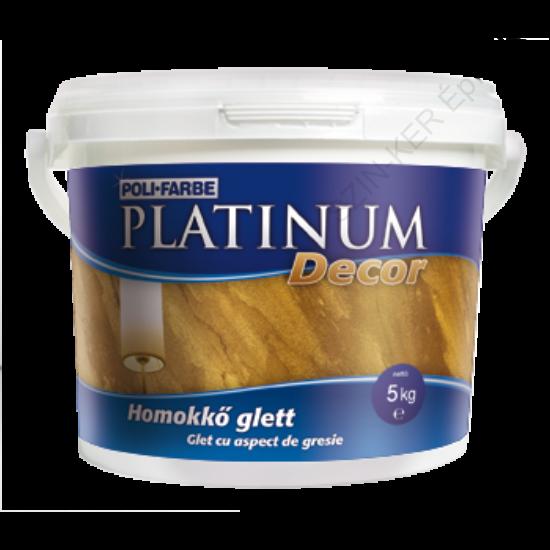 Platinum Decor homokkő glett