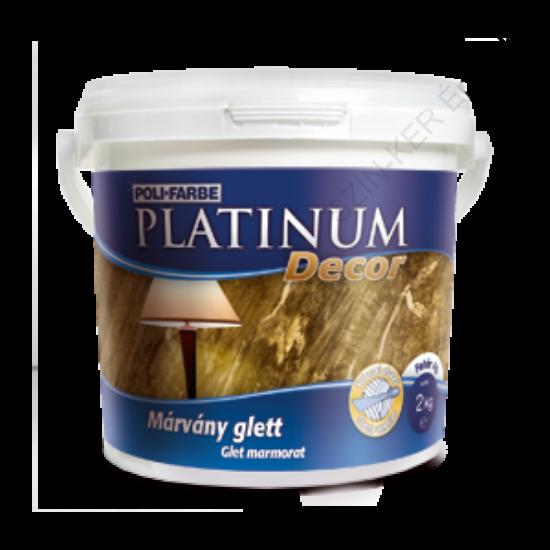 Platinum Decor beltéri márvány glett