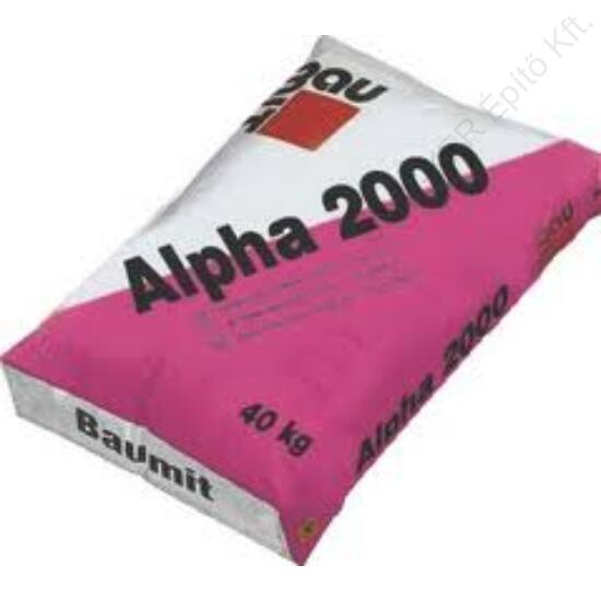 Baumit Alpha 2000 Önterülő Estrichbeton