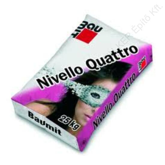 Baumit Nivello Quattro önterülő aljzatkiegyenlítő