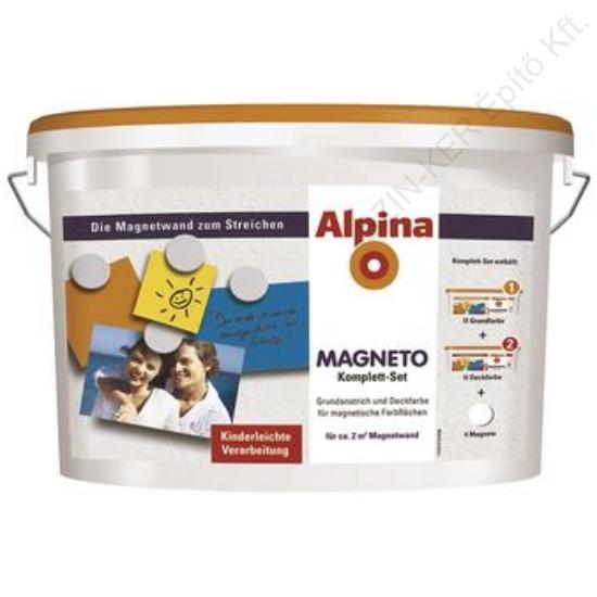 Alpina Magneto mágneses falfesték