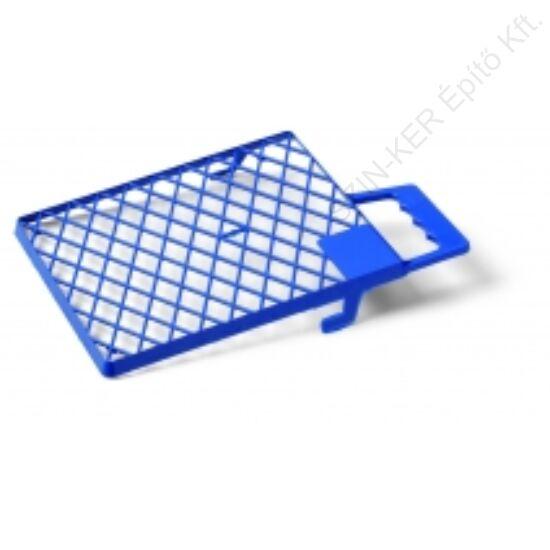 Csepegtetőrács műanyag 27x29 kék