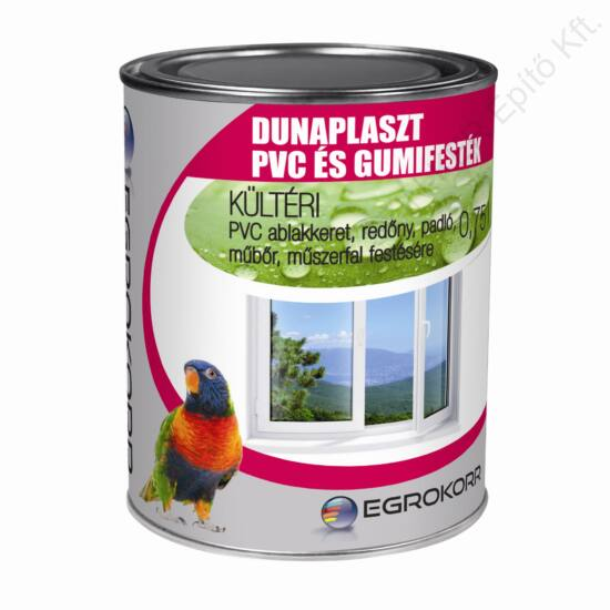 DUNAPLASZT PVC, Műanyag ablak, padló és gumi festék