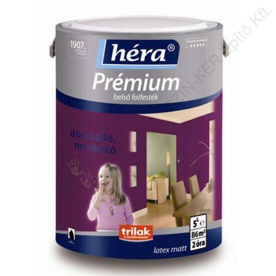 Héra Prémium Matt Belső Falfesték / Színezett Kék Gleccser 5 L