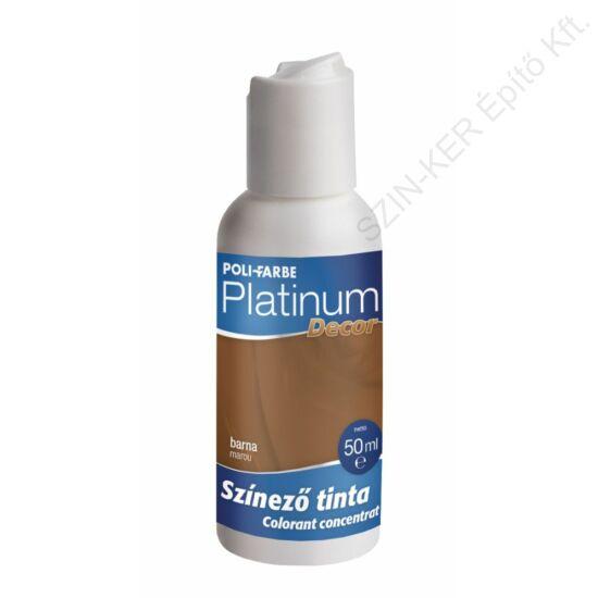 Platinum Decor színező tinta barna