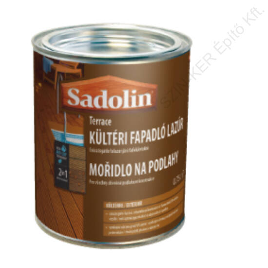 Sadolin TERRACE kültéri fapadló lazúr