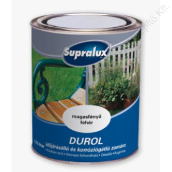 Supralux DUROL időjárásálló és korróziógátló zománc Fehér