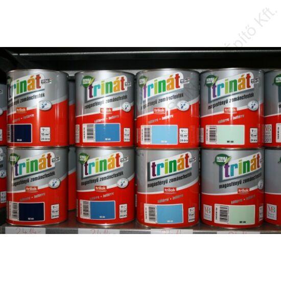 Trinát Magasfényű Zománcfesték 100 Fehér 0,5 L