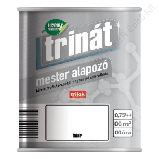 Trinát Mester Alapozó 100 Fehér 5 L