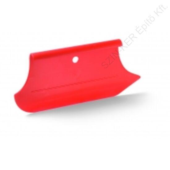 Uni-tap tapétázó spatulya piros, 280x130mm